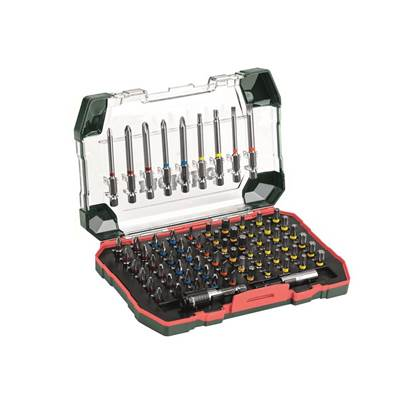 Metabo 71 Piece Screwdriver Bit Set