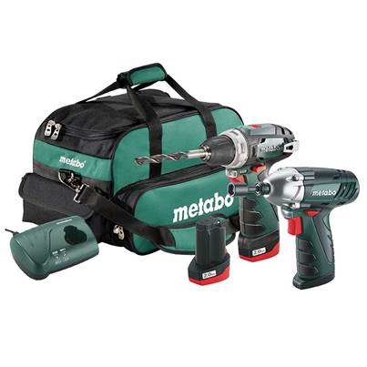 Metabo 2.3 PowerMaxx Combo Set 10.8V 2 x 2.0Ah Li-ion