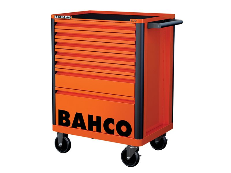 7 Drawer B Tool Trolley K Orange