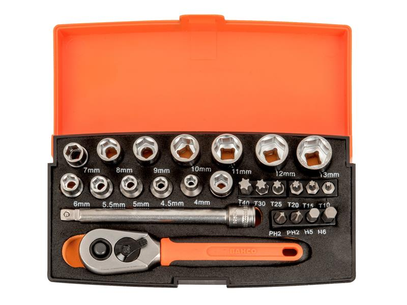 Sl25-disp-10 Socket Sets (display 10)