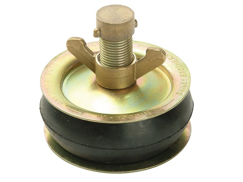 Drain Test Plug, Brass Cap