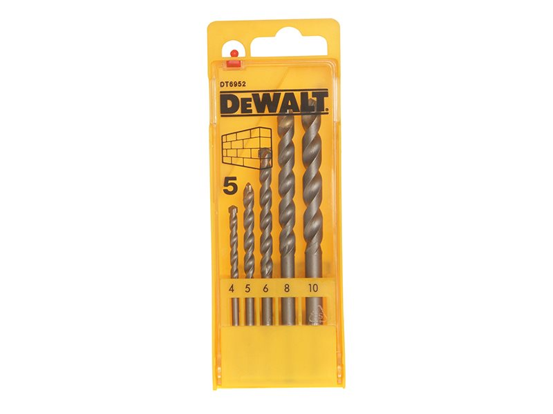Masonry Drill Set 5 Piece 4-10mm