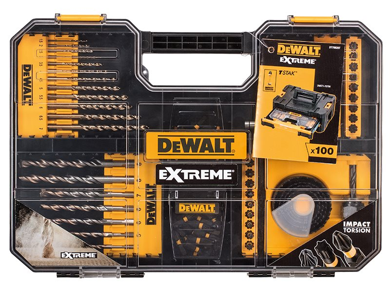 Extreme Drill Set 100 Piece