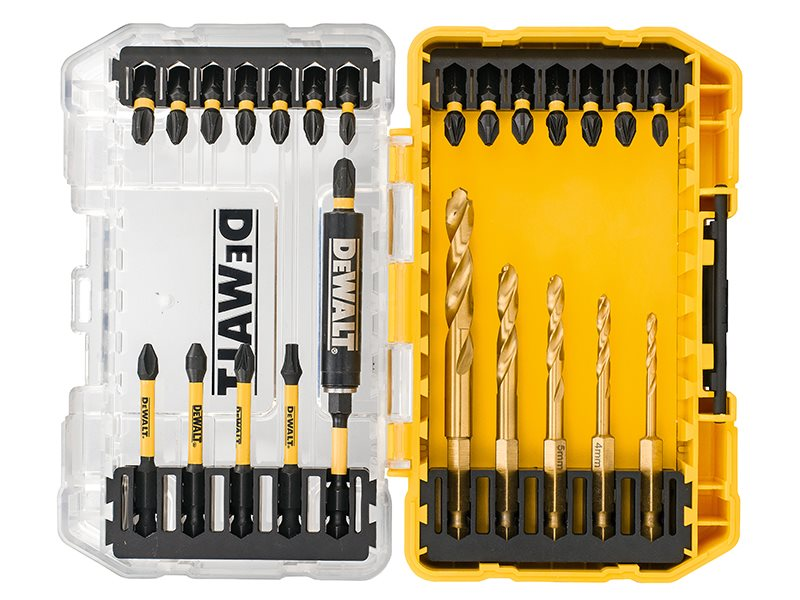 DT70749T FLEXTORQ™ Drill Drive Set, 25 Piece