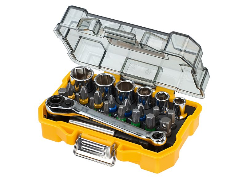 DT71516 Socket & Screwdriving Set 24 Piece