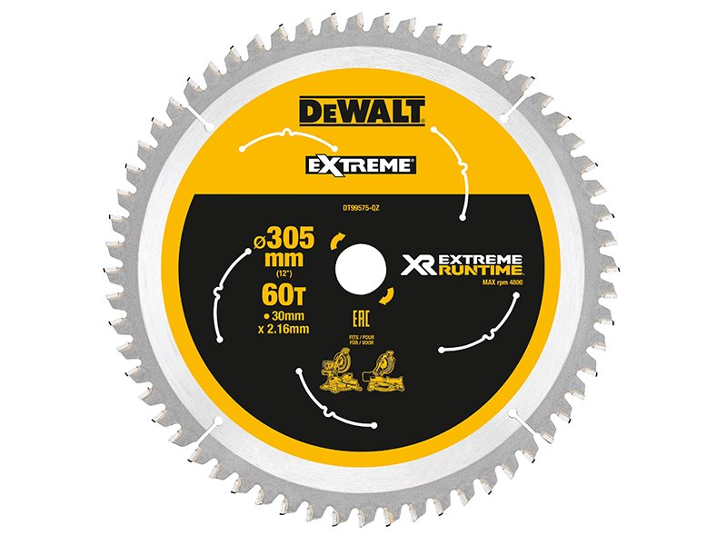 FlexVolt XR Mitre Saw Blade