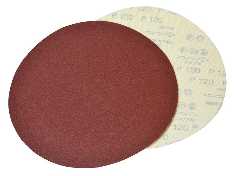 Plain Dry Wall Sanding Discs 225mm Assorted (Pack 10)
