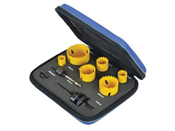Professional Holesaw Set 9 Piece