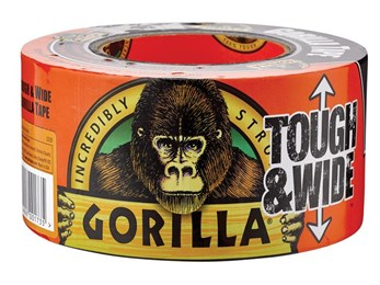 Gorilla Tape® Tough & Wide Black 73mm x 27m