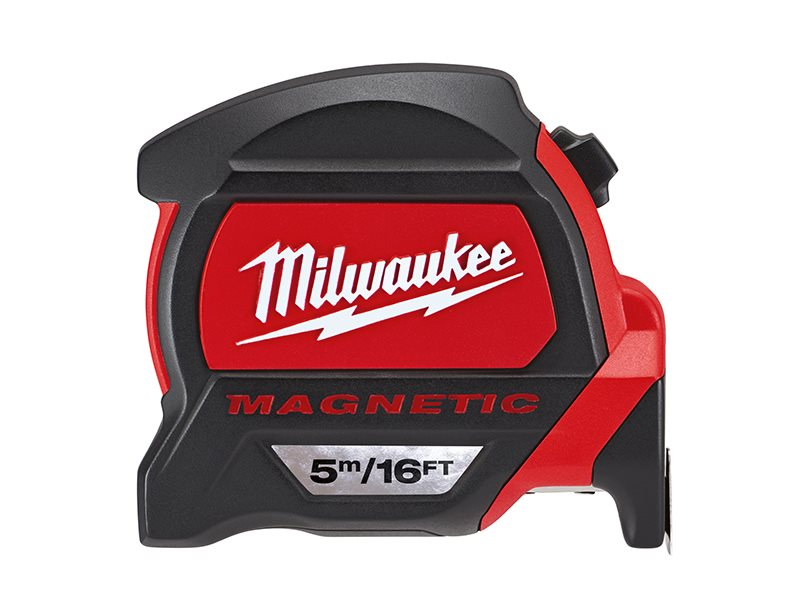 Premium Magnetic Tape Measure 5m/16ft (Width 27mm)