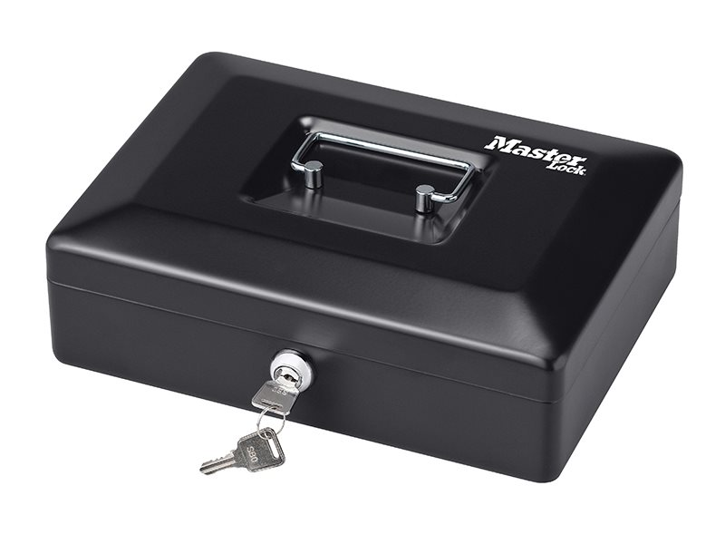 Small Cash Box with Keyed Lock