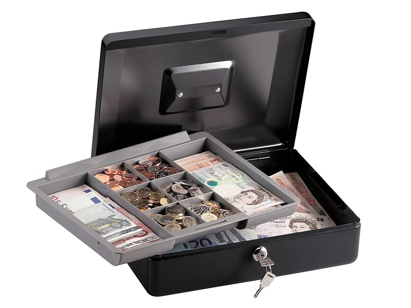 Medium Cash Box with Keyed Lock