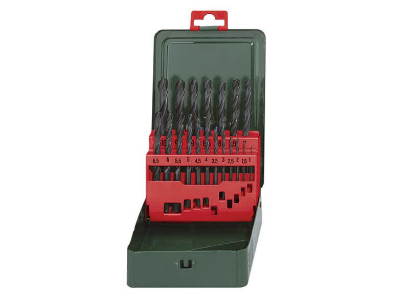 HSS-R Drill Bit Set of 19 1-10mm
