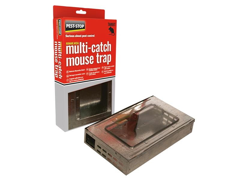 Multicatch Humane Mouse Trap Metal