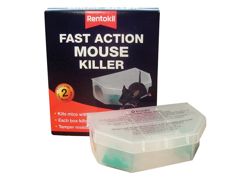 Fast Action Mouse Killer Twin Pack