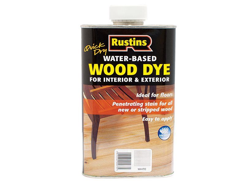 Quick Dry White Wood Dye