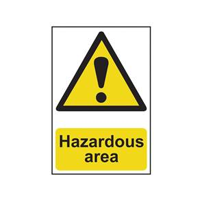 view Signs: Hazard Warning Large products