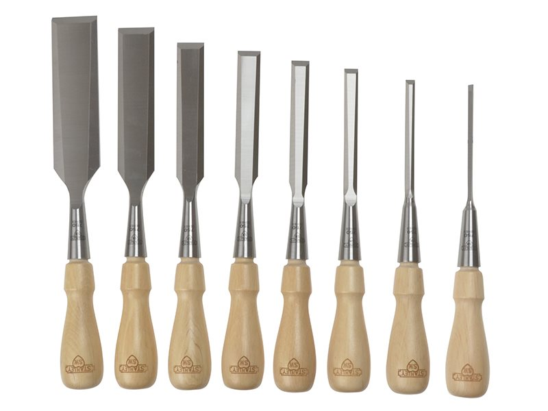 Sweetheart Socket Chisel Set of 8: 3 6 8 12 15 18 25 & 32mm