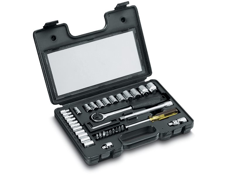 Socket Set of 40 Metric 1/4in & 3/8in Drive
