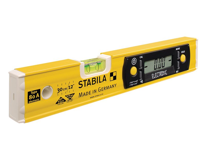 80A-E-30cm Electronic Level 17323