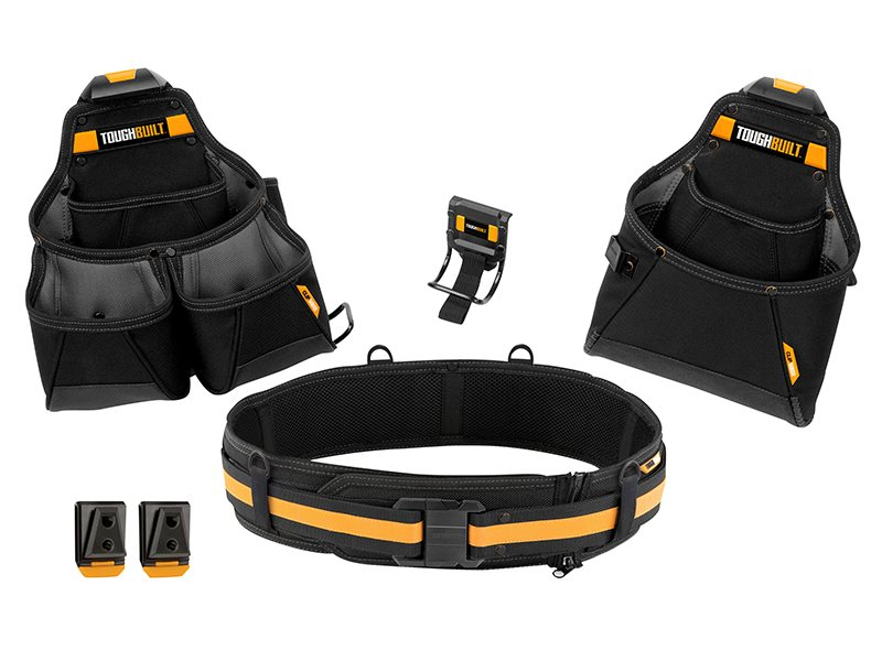 Builder Tool Belt Set 4 Piece