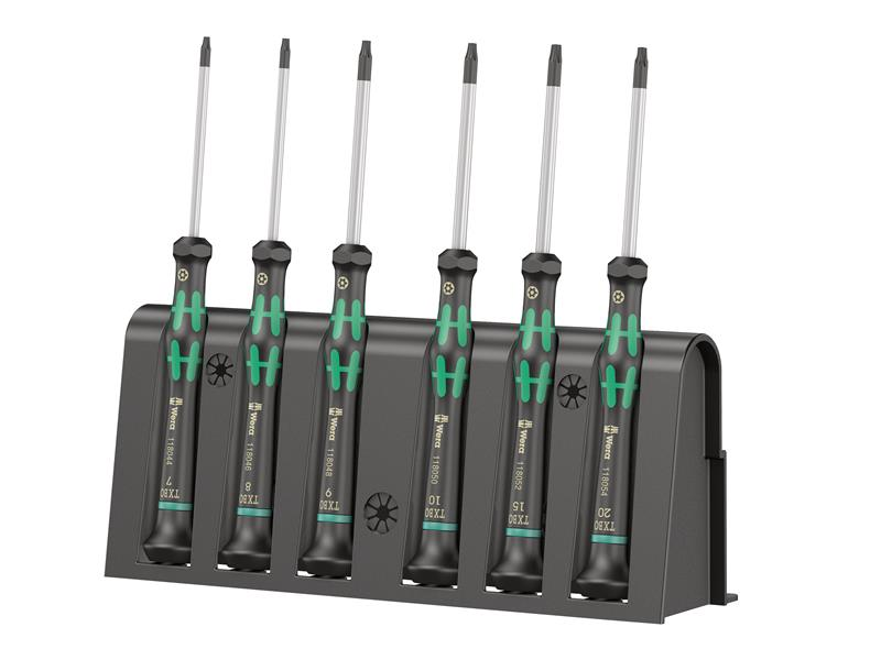 Kraftform 2067 Micro Screwdriver Set of 6 TX