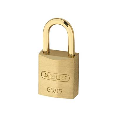 ABUS Mechanical 65MB Series Solid Brass Padlock