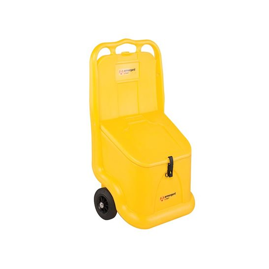 Image for Mobile Grit Bin 75 Litre 590 x 400 x 1080mm