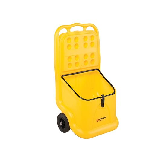 additional image for Mobile Grit Bin 75 Litre 590 x 400 x 1080mm