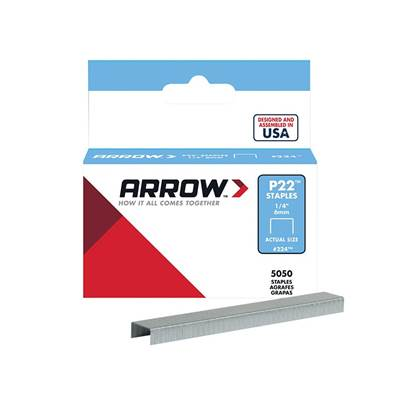 Arrow P22 Staples