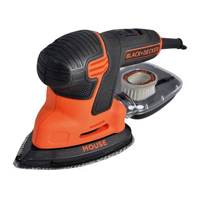 Black & Decker KA2500K-GB Compact Mouse® Sander 120W 240V