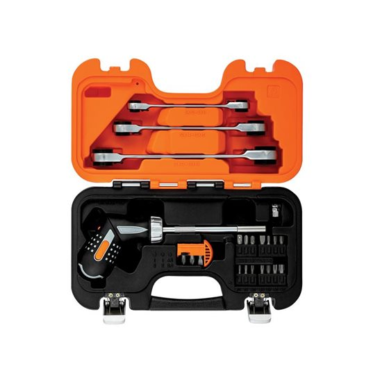 additional image for Pistol Grip Ratcheting Screwdriver Set, 25 Piece