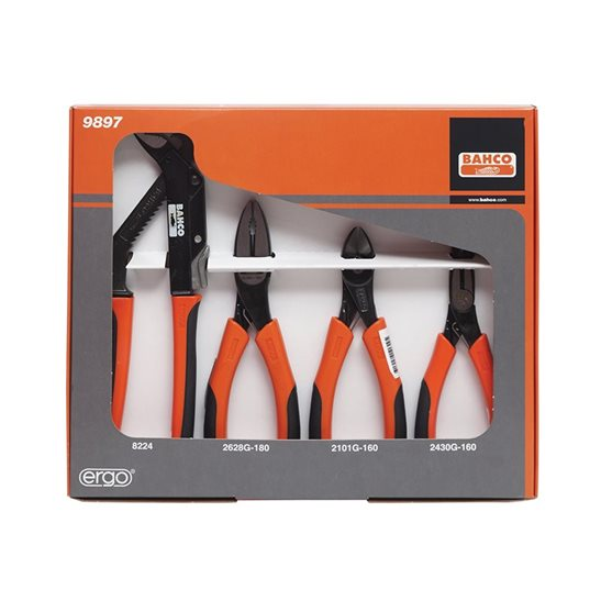 additional image for 9897 Plier Set, 4 Piece