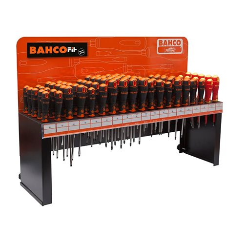 Bahco BAHCOFIT Screwdriver Display 95 Piece