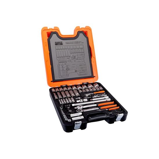 additional image for S103 Socket & Spanner Set of 103 Metric 1/4in &1/2in Dynamic Drive