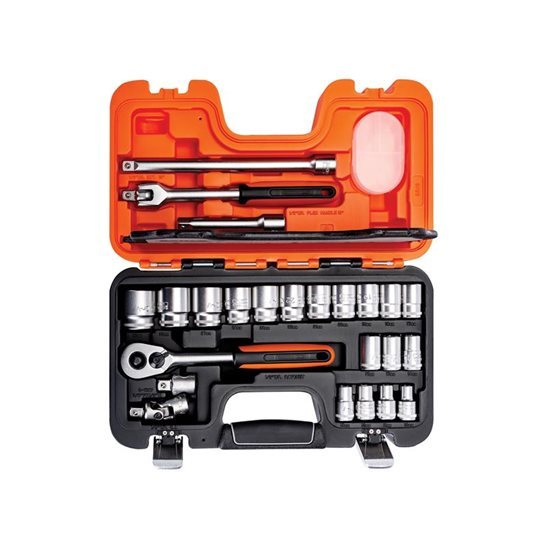 Image for S240 Socket Set of 24 Metric 1/2in Drive