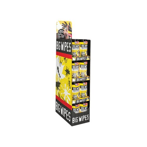 Big Wipes Multi Purpose 80S Merchandiser 32 Piece