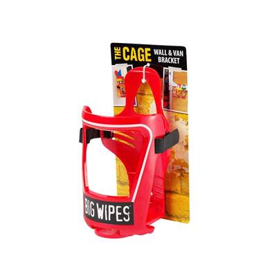 Big Wipes Van & Wall Bracket For 80 Wipe Tubs