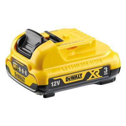 DEWALT DCB124 XR Li-ion Battery 12V 3.0Ah