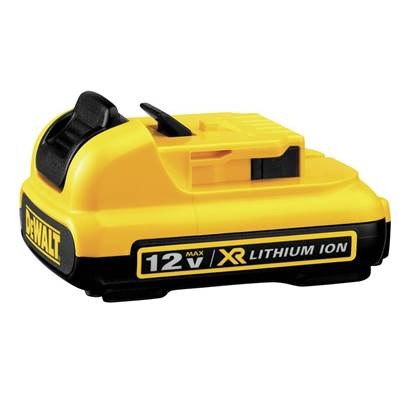 DEWALT DCB127 XR Slide Battery Pack 12V 2.0Ah Li-ion