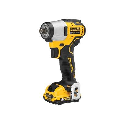 DEWALT DCF902D2 XR Brushless Sub-Compact 3/8in Impact Wrench 12V 2 x 2.0Ah Li-ion