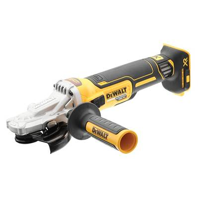 DEWALT DCG405FN XR Brushless Flat Head Grinder 125mm 18V Bare Unit