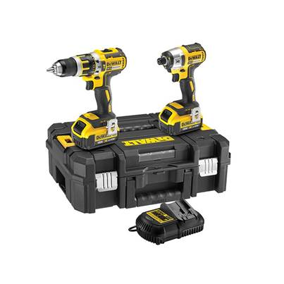 DEWALT DCK259M2T Brushless Twin Pack 18V 2 x 4.0Ah Li-ion