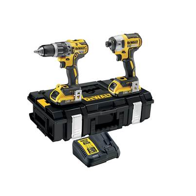 DEWALT DCK266D2 XR Brushless Twin Pack 18V 2 x 2.0Ah Li-ion