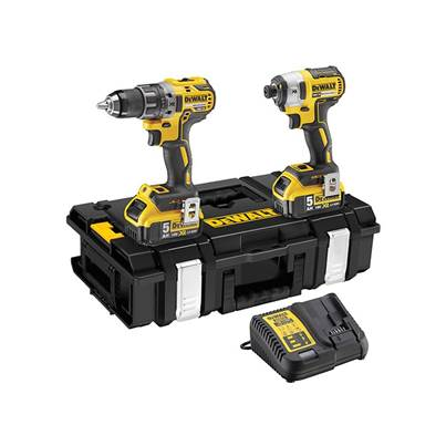 DEWALT DCK266P2 XR Brushless Twin Pack 18V 2 x 5.0Ah Li-ion