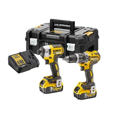 DEWALT DCK266P2T XR Brushless Twin Pack 18V 2 x 5.0Ah Li-ion