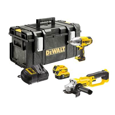DEWALT DCK269P2 XR Brushless Twin Pack 18V 2 x 5.0Ah Li-ion