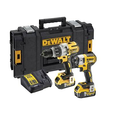 DEWALT DCK276P2 Brushless Twin Pack 18V 2 x 5.0Ah Li-ion