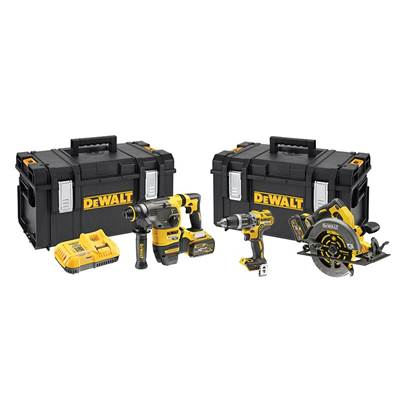 DEWALT DCK357T2 XR FlexVolt 3 Piece Kit 18V 2 x 18/54V 6.0/2.0Ah Li-ion