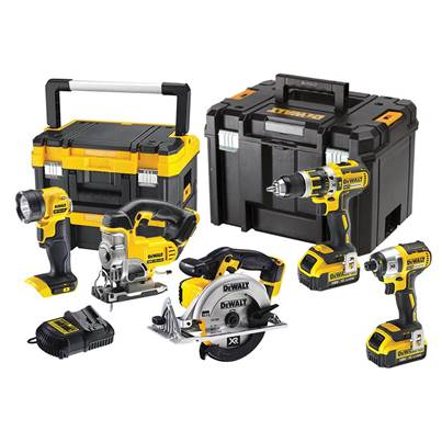 DEWALT DCK550M3T XR Brushless 5 Piece TSTAK™ Kit 18V 3 x 4.0Ah Li-ion